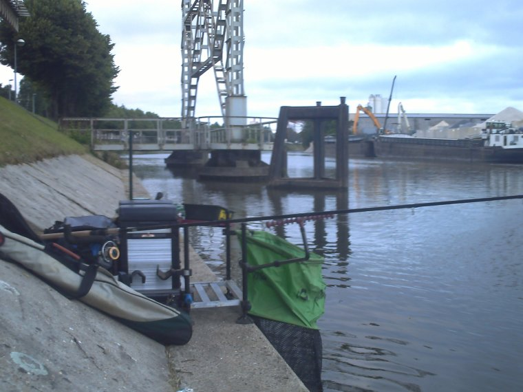 petit pêche se dimanche matin
