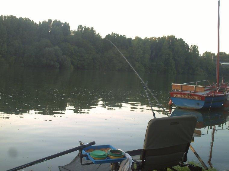 Deux mâtiné de pêche et deux technique de pêche