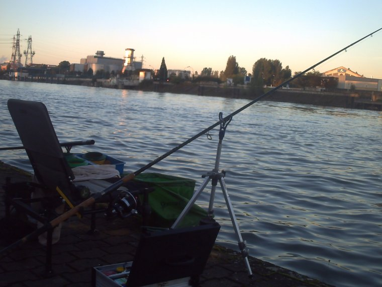 une pêche ,une rencontre
