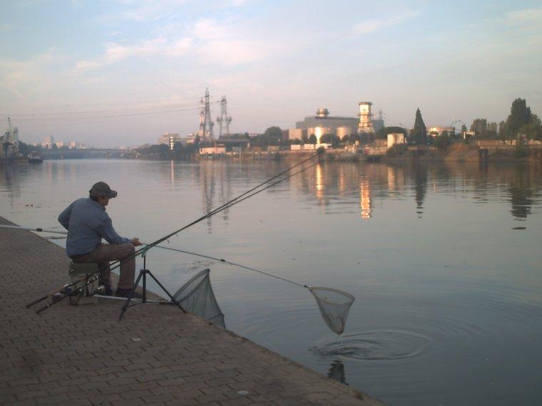 une pêche entre amis