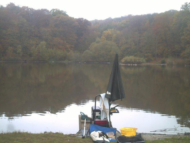 retour sur l'étang de Meudon