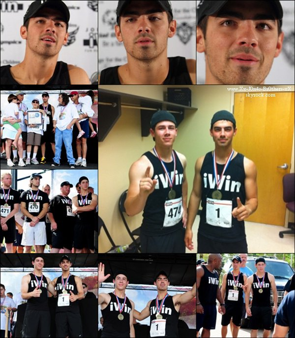Le 06/09/2010 : Joe avec la participation de Nick sont allé courir 5 Km pour Joe Jonas I Win Fun Run en Floride.  Le 06/09/2010 : Le World Tour continue en Floride au American Music.