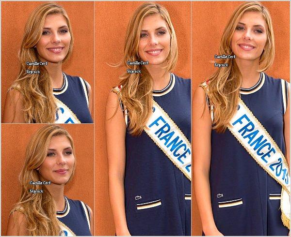 03/06/15 : Corine de Farme - Roland Garros