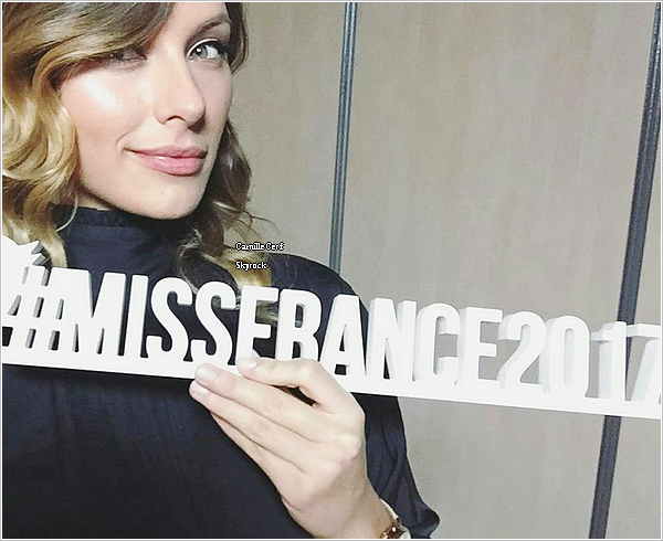 20/12/16 : Interview - Miss France 2017