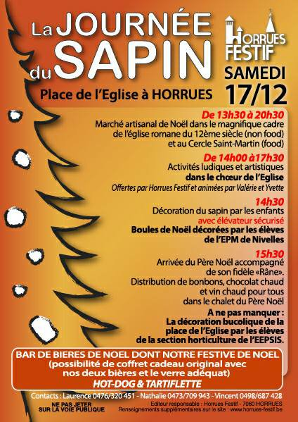 Marché de Noël à Horrues 2016
