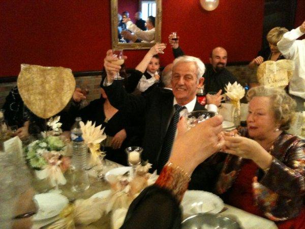 Le toast...