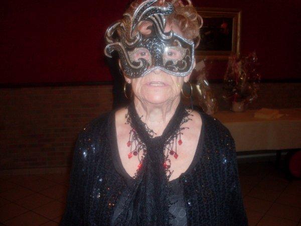 la soeur de Mamy ma belle-mère...