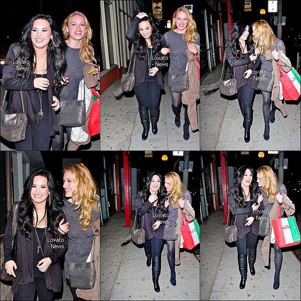 Demi de sortie le 4 Mars avec ses amies au Tan Dana's Light .