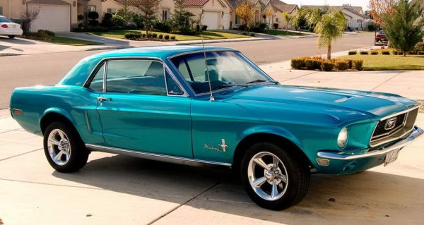 Passion : Ford Mustang Coup de 1968