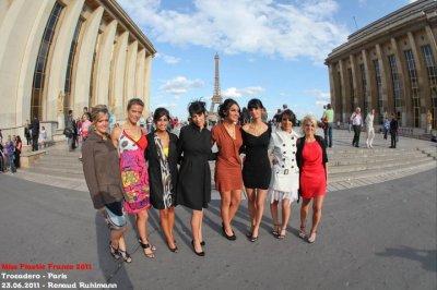 Élue 1e dauphine de Miss Plastic France 2011