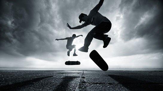 le skate c'est magique