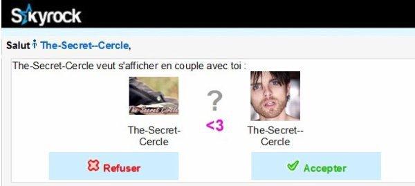the-Secret-Cercle veut s'afficher avec toi