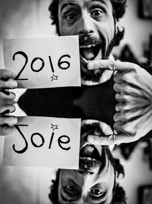 Que 2016 apporte la joie à toute et à tous !!! ☆♡