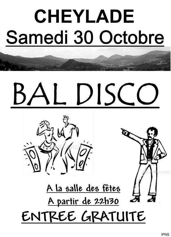 Bal le Samedi 30 octobre 2010