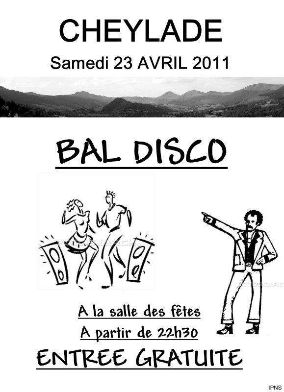 BAL DISCO Samedi 23 Avril !!!!!