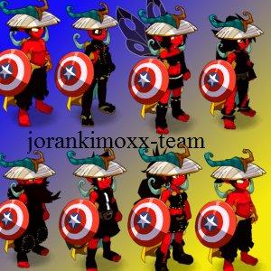 couleur et obji de la  futur  team