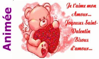 Joyeuse Saint Valentin !!!  et tout spécialement a Mon Amour !!! :$ $)