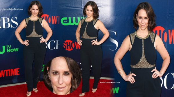Le 17 juillet, Jennifer assistait aux TCA Summer Press Tour Party de la chaine de télévision The CW au Pacific Design Center de West Hollywood en Californie.