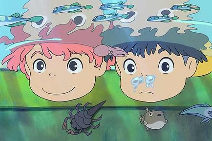 <3 <3 ponyo aime sosuke <3<3