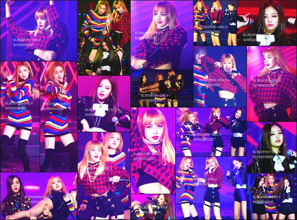 ----------------  19/01/17 :    BlackPink   été   photographiée  en performance pour la   cérémonie des    Seoul Music Awards   -    dans  Séoul.   J'aime trop la robe de Jennie mais pas trop fan de la coiffure tiré. Je suis hyper fan de la robe aussi de Jisoo. Flop pour les cheveux de Lisa.  ----------------