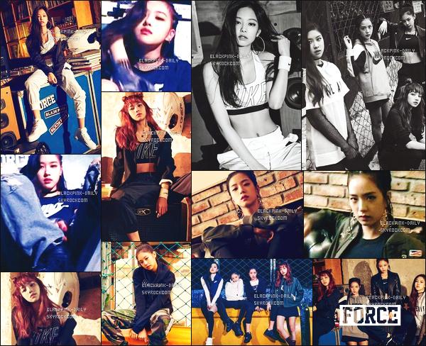 ----------------     Découvrez en photos   BlackPink lors du shooting     pour le magasine   Vogue Korea    -  Octobre 2017.   Les filles sont assez belle et radieuse. J'adore tellement les tenues qu'elles portent, ca fait si vraies femmes. J'adore la coiffure de Jisoo.   ----------------