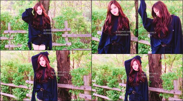 ----------------  • Des photos personnelles de l'adorable Rosé mis en ligne sur leur compte partagé sur Instagram.   Avril 2017 - Des  magnifique  photos de notre sublime Rosé, elle etait en balade dans un parc. J'adore la tenue, elle est   top. Elle est  parfaite.  ----------------