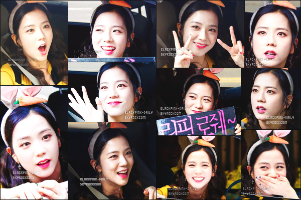 ----------------  30/04/17 : Mlle Jisoo a été aperçue arrivant/quittant dans sa voiture dans les studios du show    Inkigayo   -  à Séoul.  Elle est toute adorable, elle est dans sa voiture elle prend du temps à parler avec les fans qui l'on attendu toute la journée. J'aime trop. ----------------