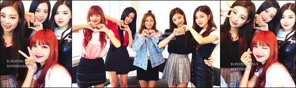 ----------------  • Des photos du groupe BlackPink trouvé sur Instagram.   Octobre 2017 - Quelques photos de  BlackPink avec Mayu Furuhashi. Les filles sont assez belle et mignonne. J'adore le haut rose de Lisa.  ----------------