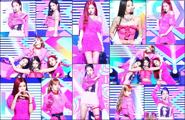 ----------------  23/06/18 :  Nos  BlackPink a été photographiées durant les performances lors de l'émission   «  Music Core »   - Séoul.   J'adore les tenues de tous le monde. Je suis tellement fan. Gros top pour les cheveux super long de Jennie.  Elles sont assez merveilleuses.   ----------------