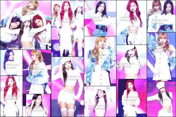 ----------------  30/06/18 :  Nos  BlackPink a été photographiées durant les performances lors de l'émission   «  Music Core »   - Séoul.   J'adore les tenues de tous le monde. Je suis tellement fan. Gros top pour les cheveux super long de Jennie.  Elles sont assez merveilleuses.   ----------------