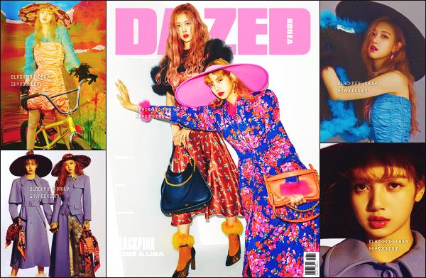 ---------------- • Découvrez en photos nos princesses Rosé et Lisa pour le grand magasine  Dazed    -    Aout 2018.   Je trouve les vêtements vont vraiment bien à   petite magnifique Lisa.  Je suis trop fan de toutes ses tenues, j'adore  les coiffures de Rosé.  ----------------