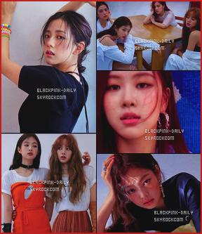 ----------------  •• Découvrez nos BlackPink en shooting et interview pour le magazine   Hight Cut   - Juin 2018   Je suis  assez fan de se shooting, les filles sont tellement magnifiques, on dirait tellement des princesses. Top les tenues qu'elles portent.  ----------------