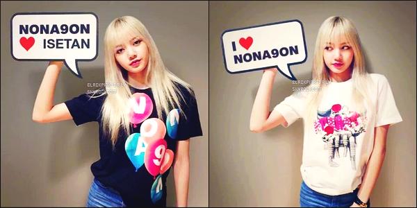 ----------------  ••  Découvrez deux photos de notre magnifique Lisa pour la marque Nona9On -  en Aout 2016.  C'est deux photos simple prisent par un telephone portable je pense. Lisa est assez mignonne vraiment gros top pour ses deux photos.  ----------------