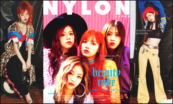 ----------------  Découvrez des photos de   BlackPink en shoot pour le grand magazine  « NYLON » - Juillet 2017.  Les filles sont assez belle et radieuse. Je remercie milles fois BlackPink France pour cette traduction et bravo pour son travail si dure.   ----------------
