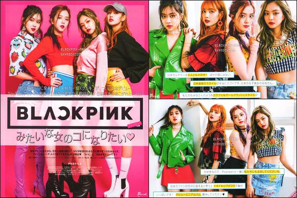 ----------------  Découvrez des photos de   BlackPink en shoot pour le grand magazine  « Popteen » - Juillet 2017.  Les filles sont assez belle et radieuse. Je remercie milles fois BlackPink France pour cette traduction et bravo pour son travail si dure.   ----------------