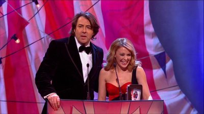 kylie -british comedy awards