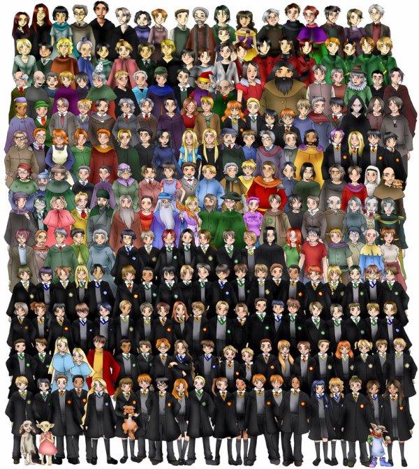 Dessins des personnages