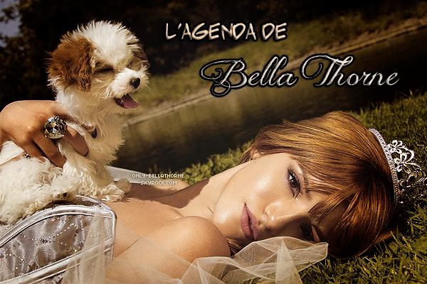 . Agenda de Bella Thorne .