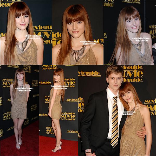 . 10.02.2012 Bella Thorne aassistaità la 20ème cérémonie des Movie Guide Awards Sa tenue était magnifique! un TOP pour moi! TOP ou FLOP? .