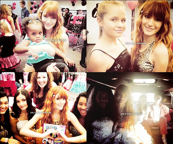 . Bella a postée des nouvelles photos sur son compte Twitter : .