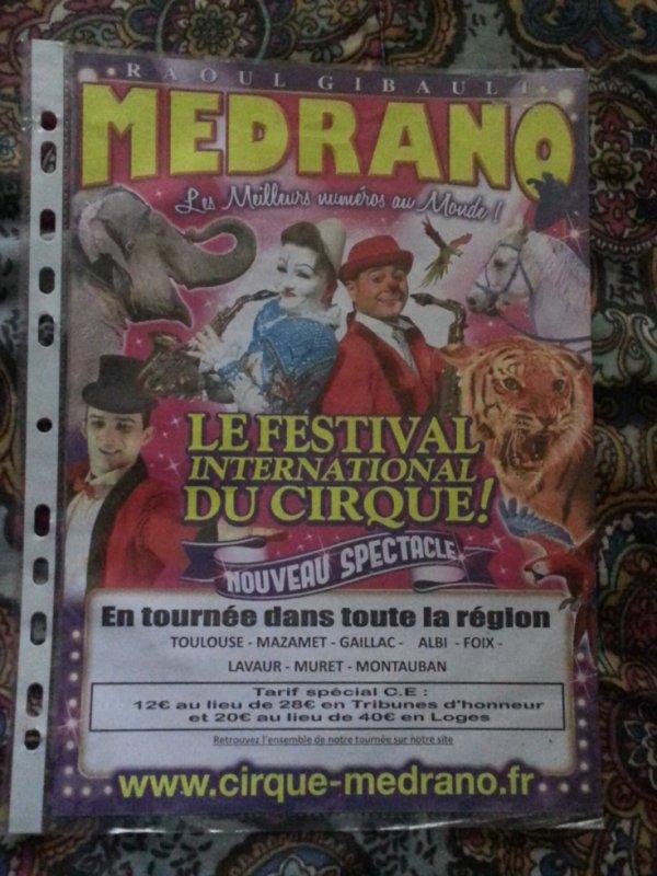 Cirque Medrano 2012