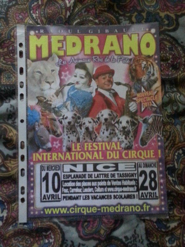 Cirque Medrano Toulouse 2012