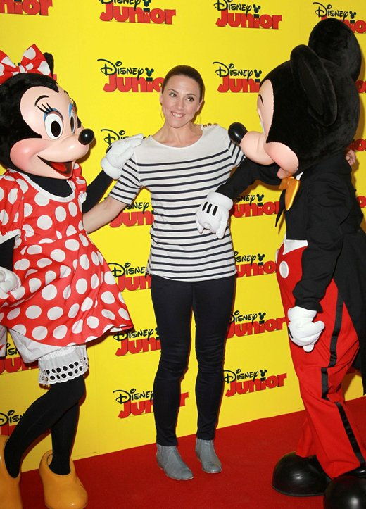 At the Disney Junior Launch Event