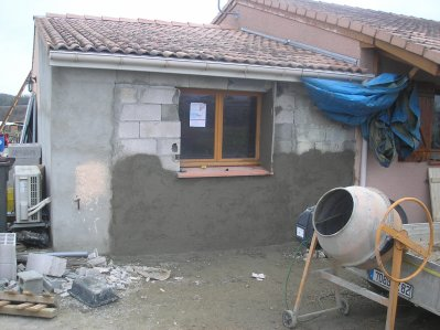 Travaux d agrandissement a la maison blog de stef89370 for Agrandissement maison 42