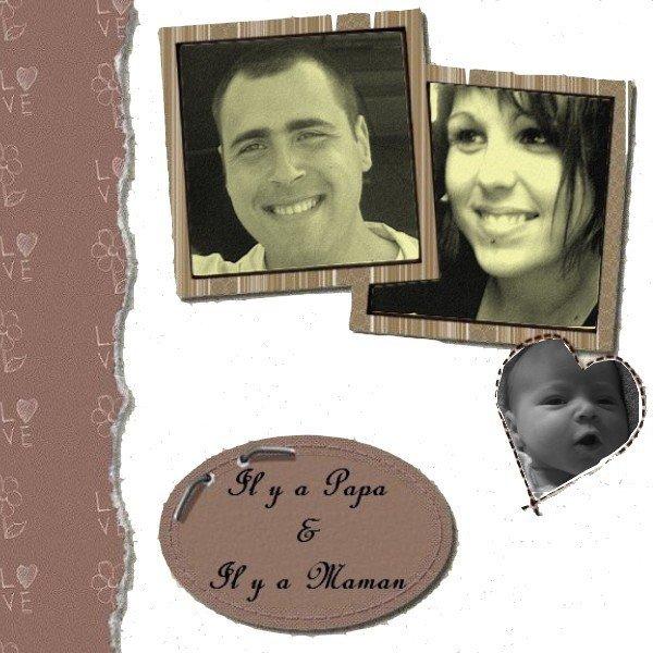 Papa, Maman et Lucas ♥♥♥