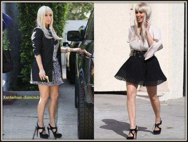 - 12-03-12 Kim s'est achetée une perruque blonde, Top ou Flop ? -