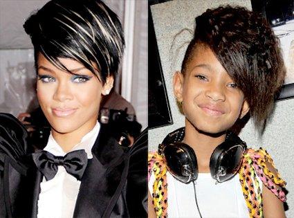 . La fille de Will Smith veut devenir la nouvelle Rihanna.