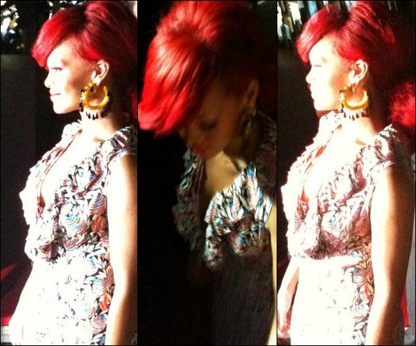 Rihanna est a Paris, l'animateur Nikos la confirmer!