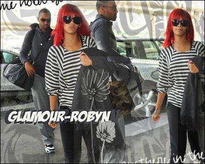 Rihanna quitte Paris