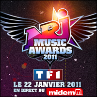 +Liste définitive pour les NRJ Music Awards